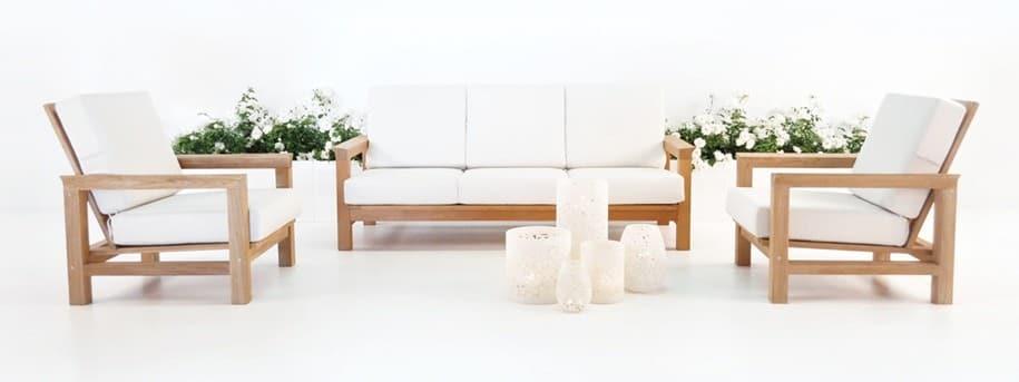 Monterey A-Grade Teak Patio Furniture Set