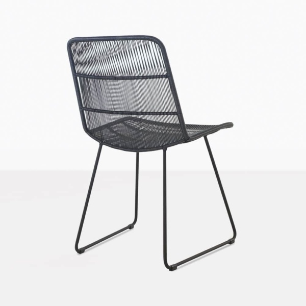 Nairobi Modern Wicker Outdoor Dining Chair