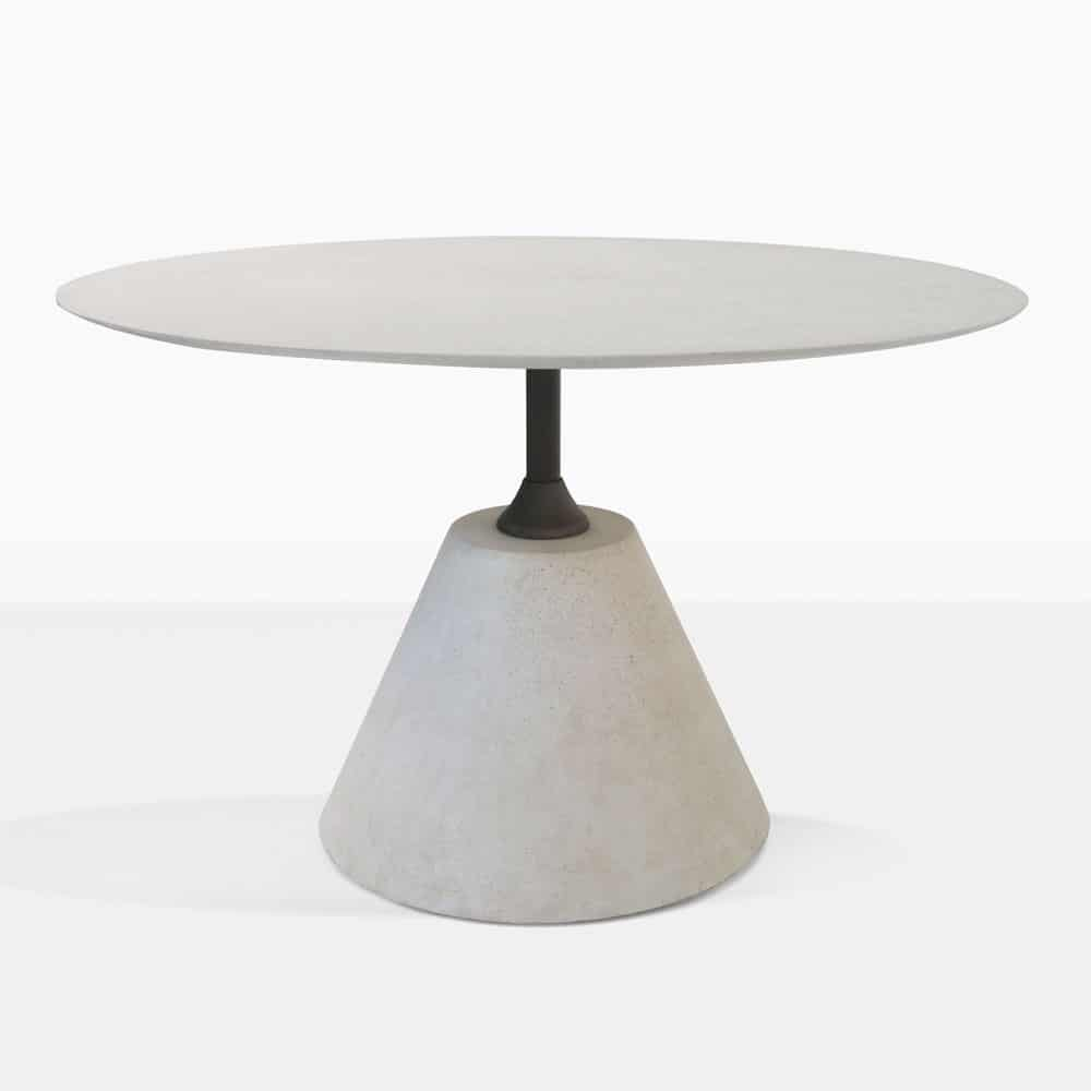 Cee Cee Grey Concrete Outdoor Dining Table