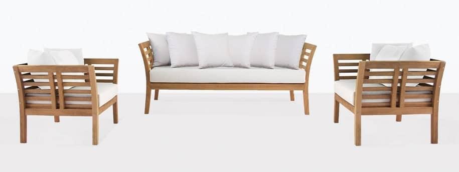 Plantation Teak Outdoor Furniture Set