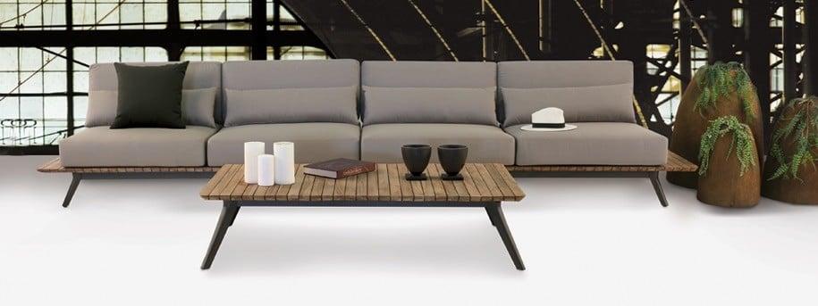 Platform Outdoor Sectioanl Sofa