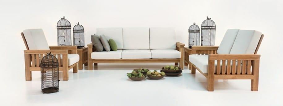Raffles Teak Outdoor Furniture Set