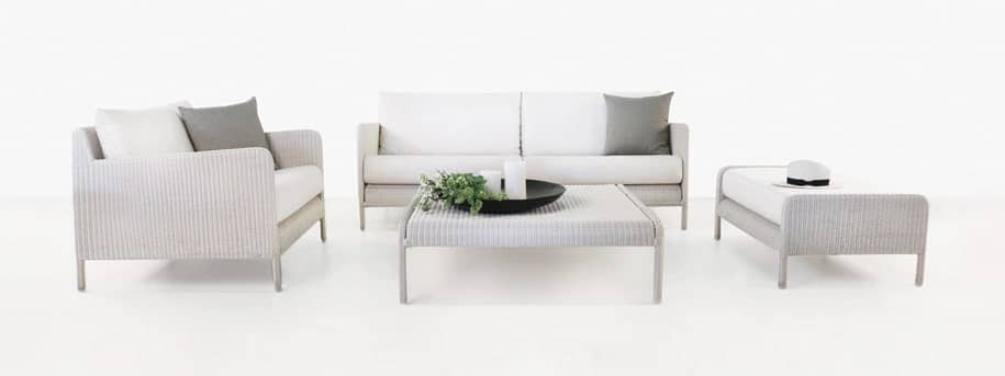 Zambezi White Wicker Furniture