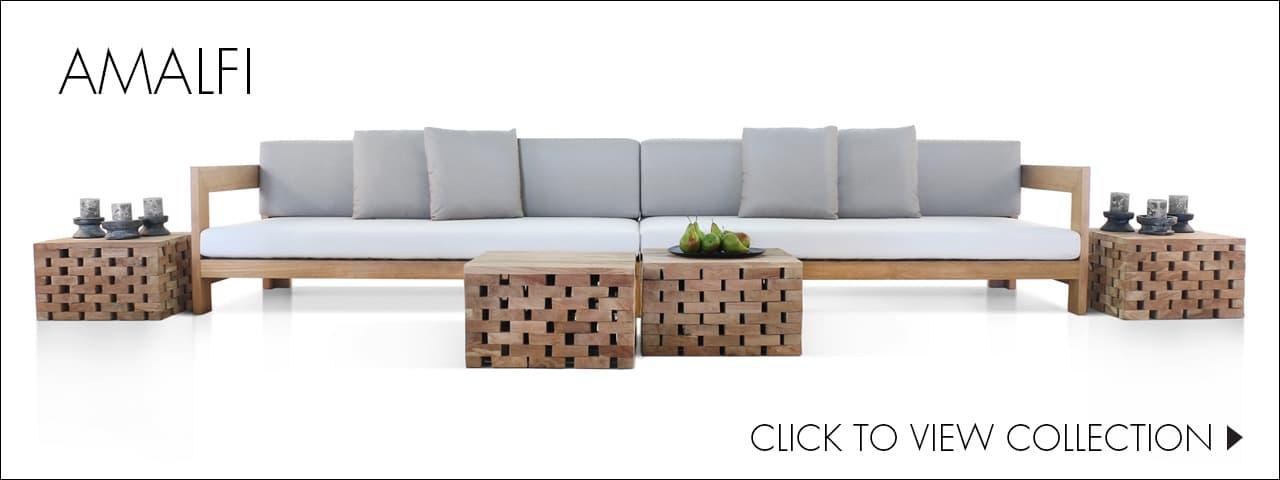 Amalfi Teak Outdoor Furniture Collection