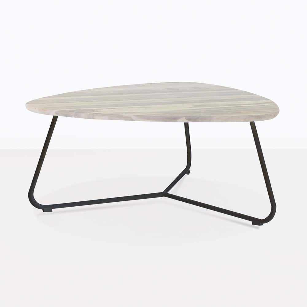 Glass Coffee Tables New Zealand: Billi Outdoor Coffee Table (Graphite)