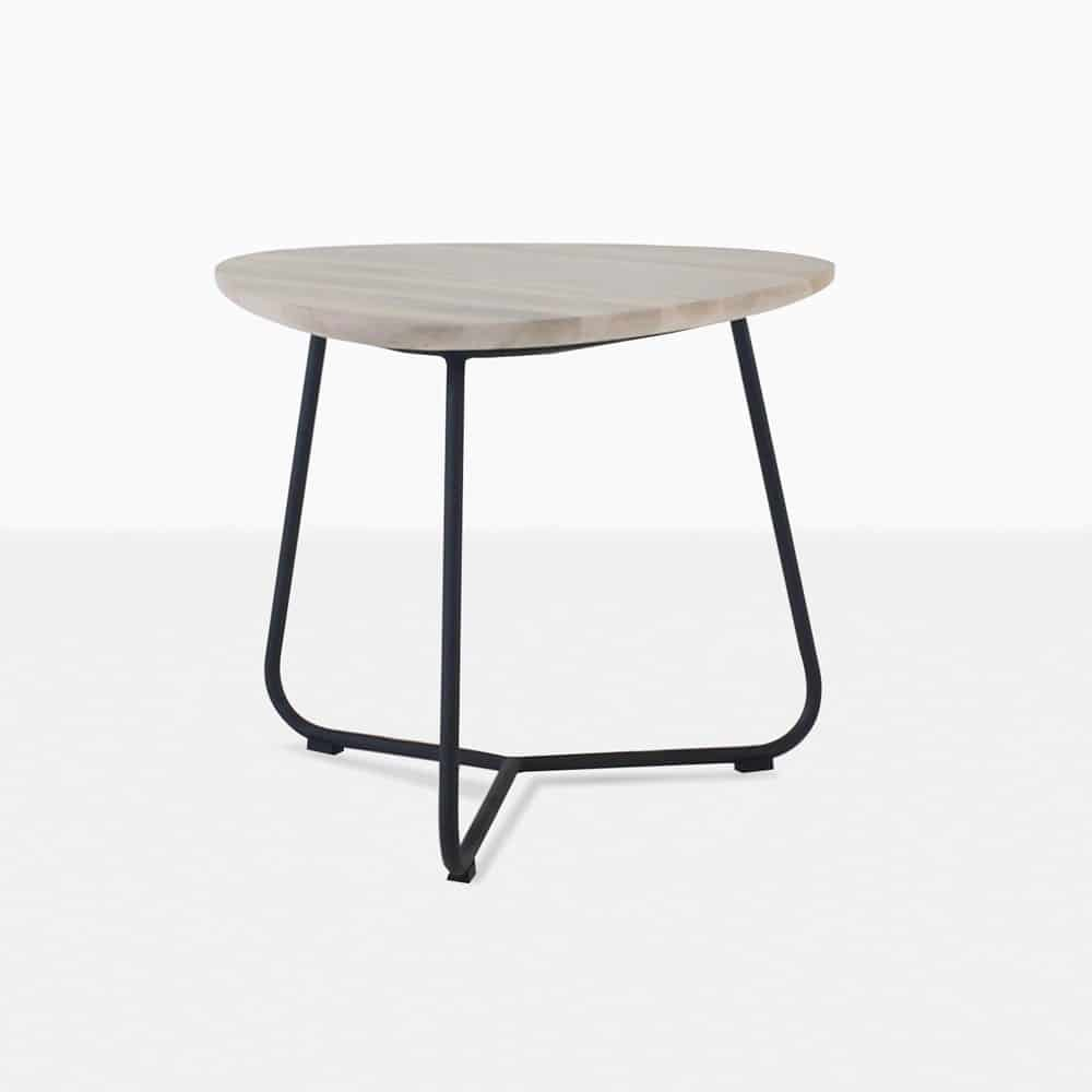 black metal outdoor furniture. Simple Outdoor Billi Outdoor Side Table Graphite For Black Metal Furniture W