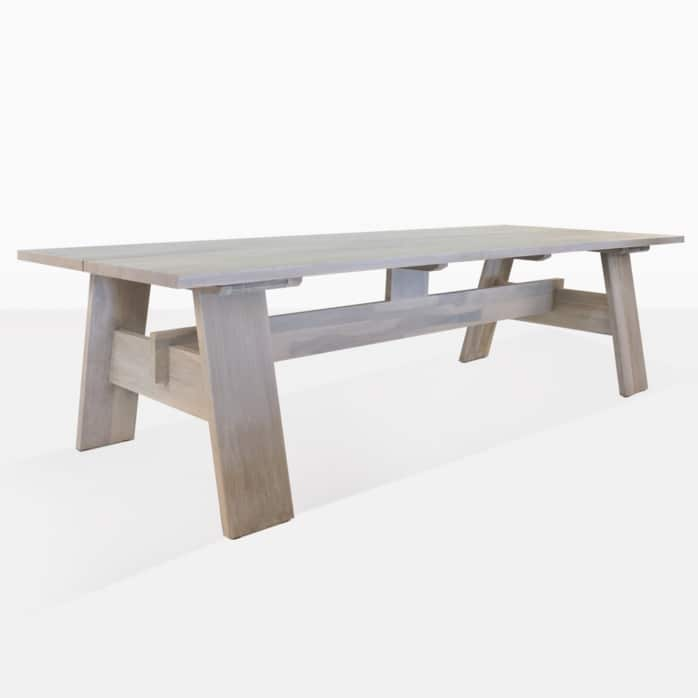 bradford teak table angle
