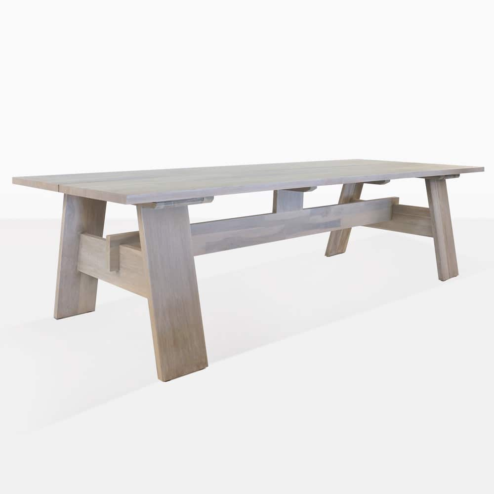 bradford trestle outdoor dining tables design warehouse nz