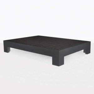 coffee table - charcoal aluminum