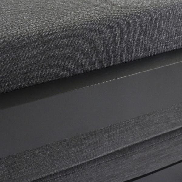 charcoal aluminium - amalfi