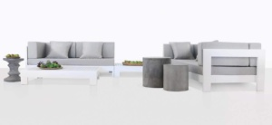 amalfi aluminium deep seating collection