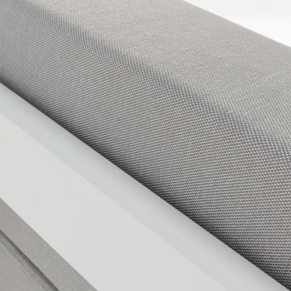 white aluminium amalfi coast
