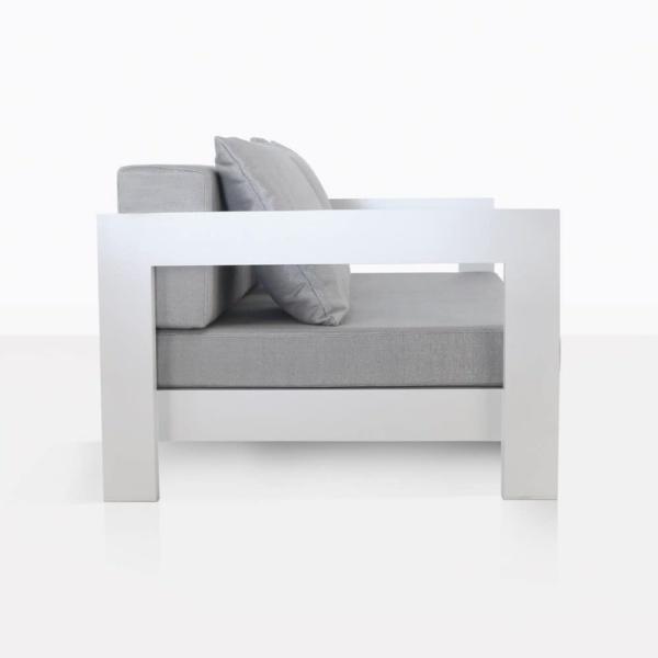 white aluminium amalfi - club