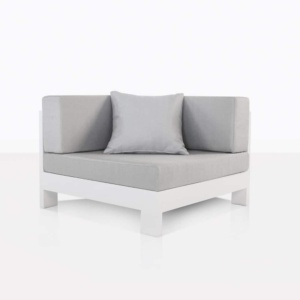 corner chair White aluminium
