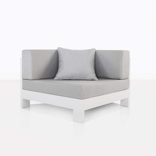 corner chair White aluminium