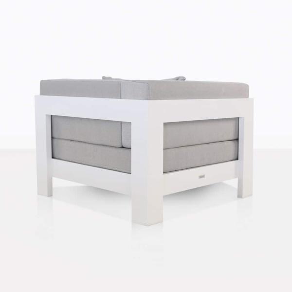 corner white aluminium amalfi