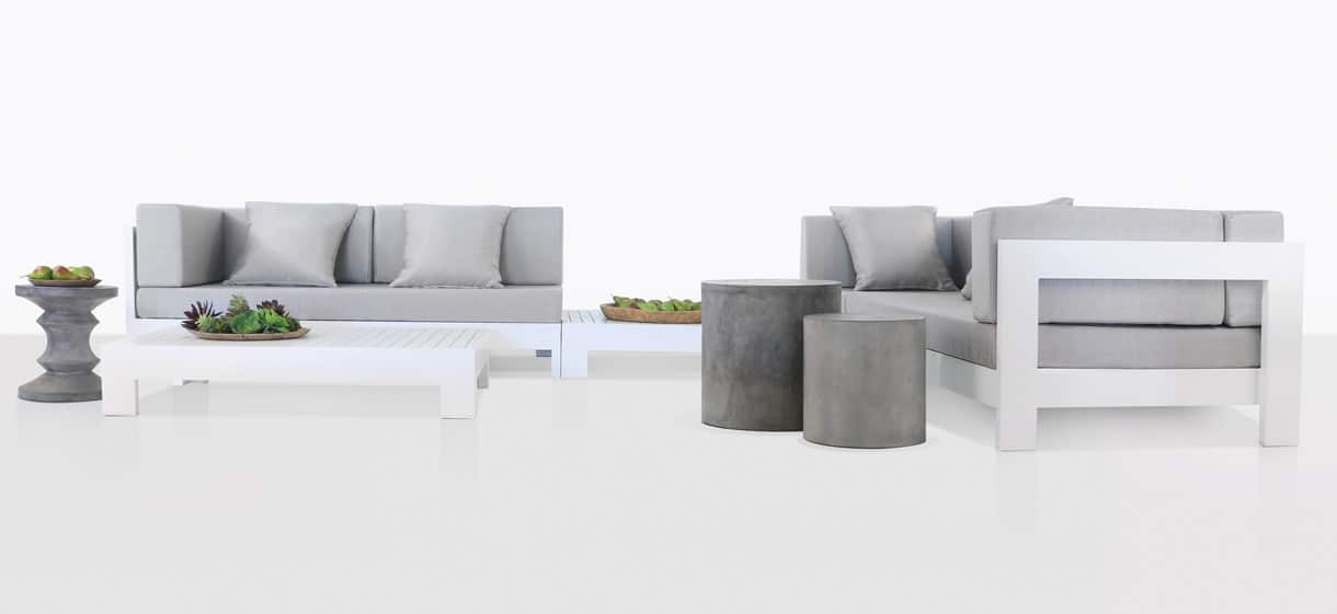 Amalfi Aluminium deep seating furniture collection