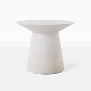 Holly Concrete Round Accent Table