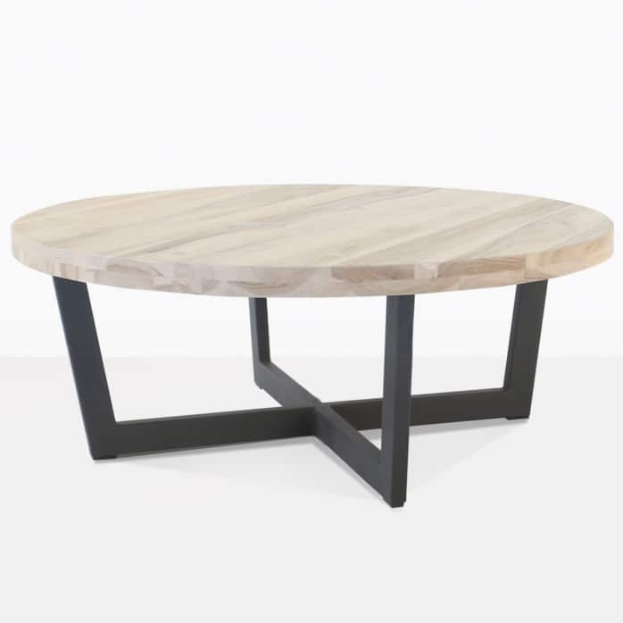 Jimmy round teak table