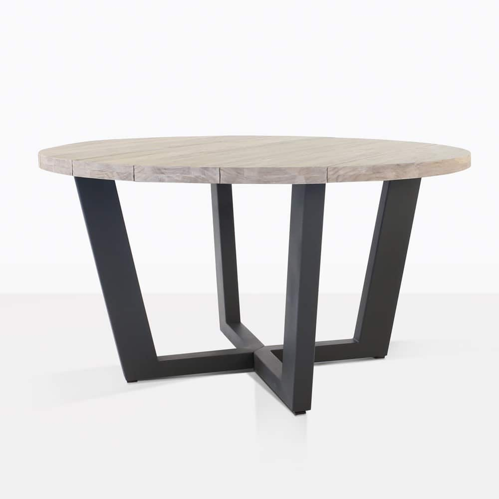 Jimmy Outdoor Round Dining Table Dinner Cafe Design Warehouse Nz
