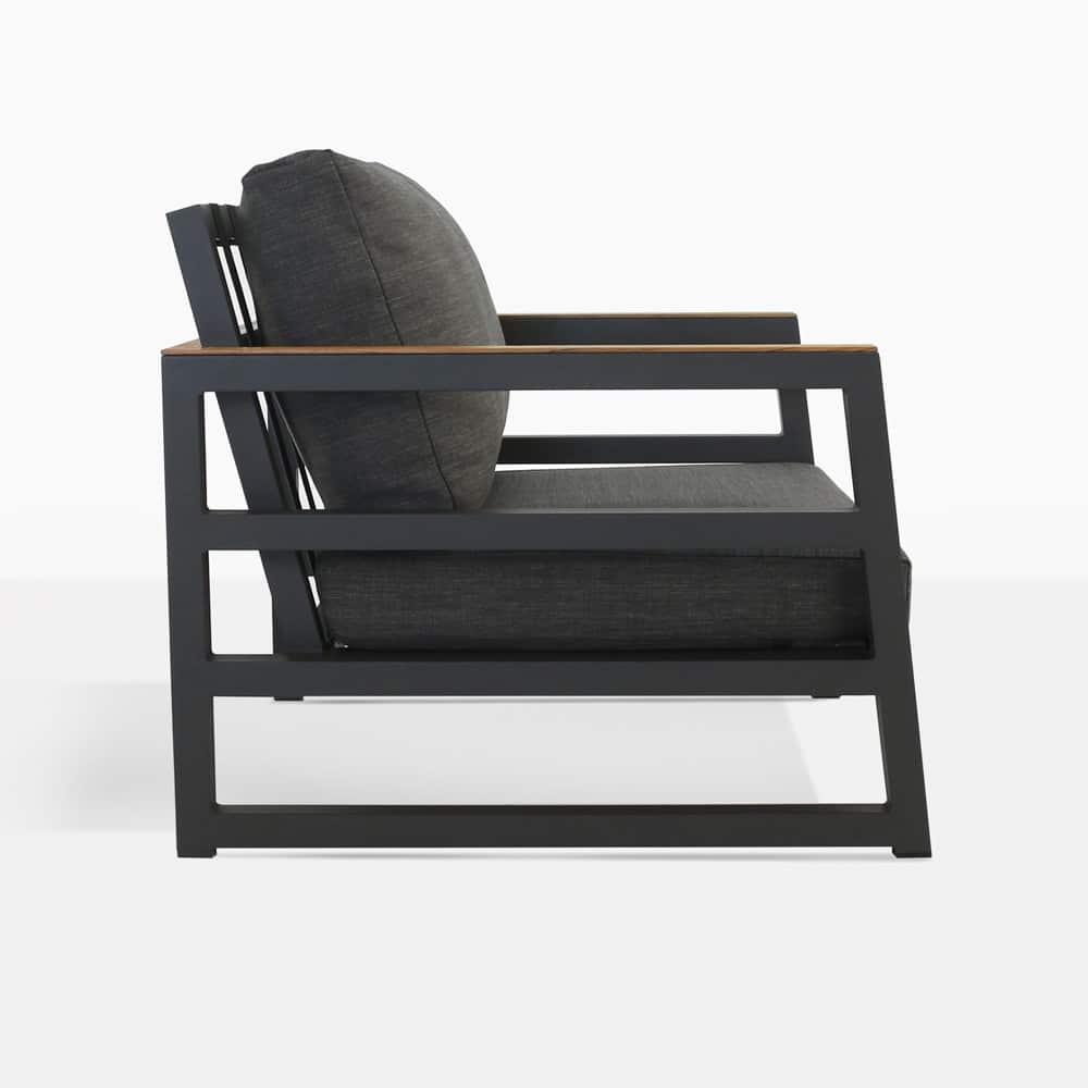 Westside Club Chair Side View