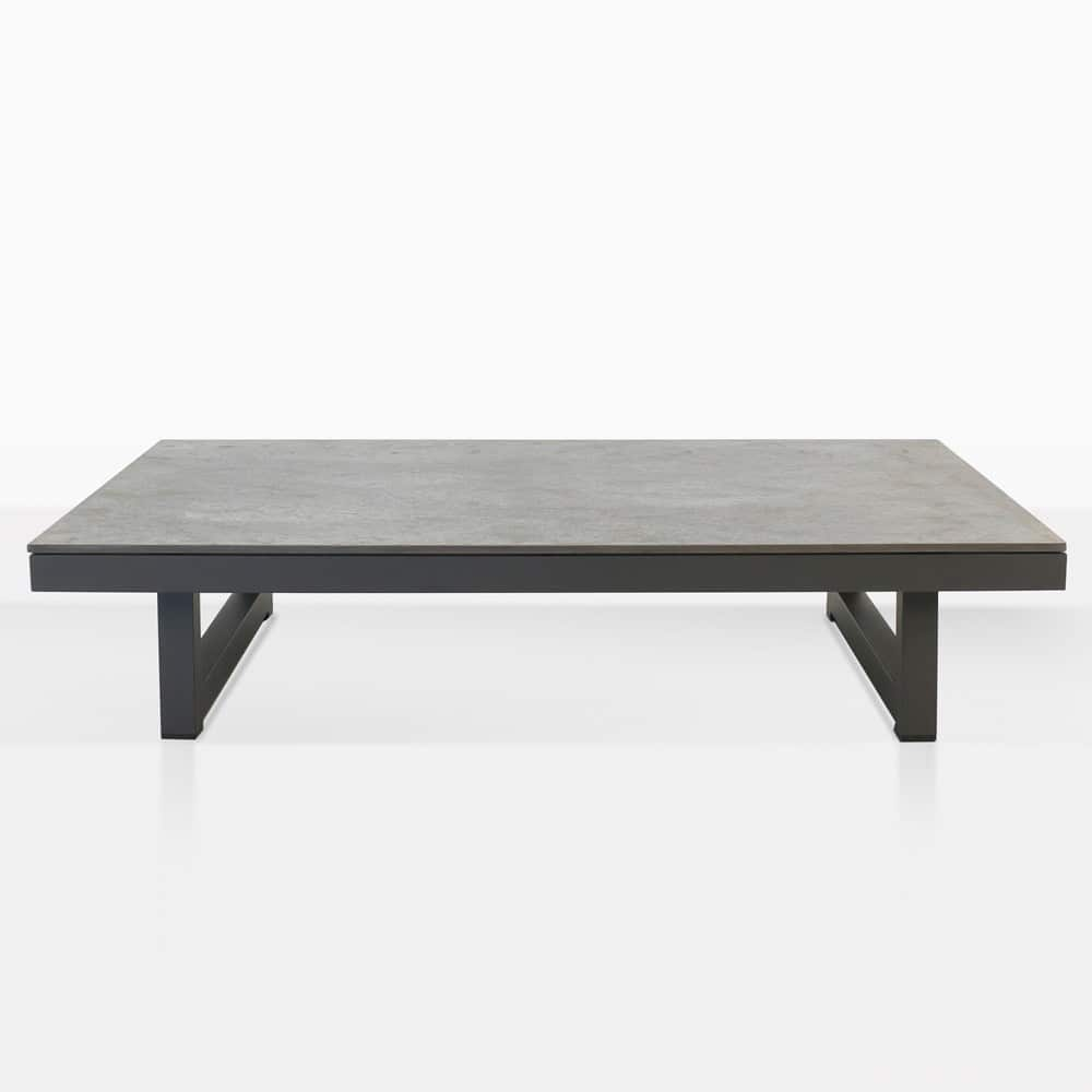 Westside Aluminum Rectangle Coffee Table