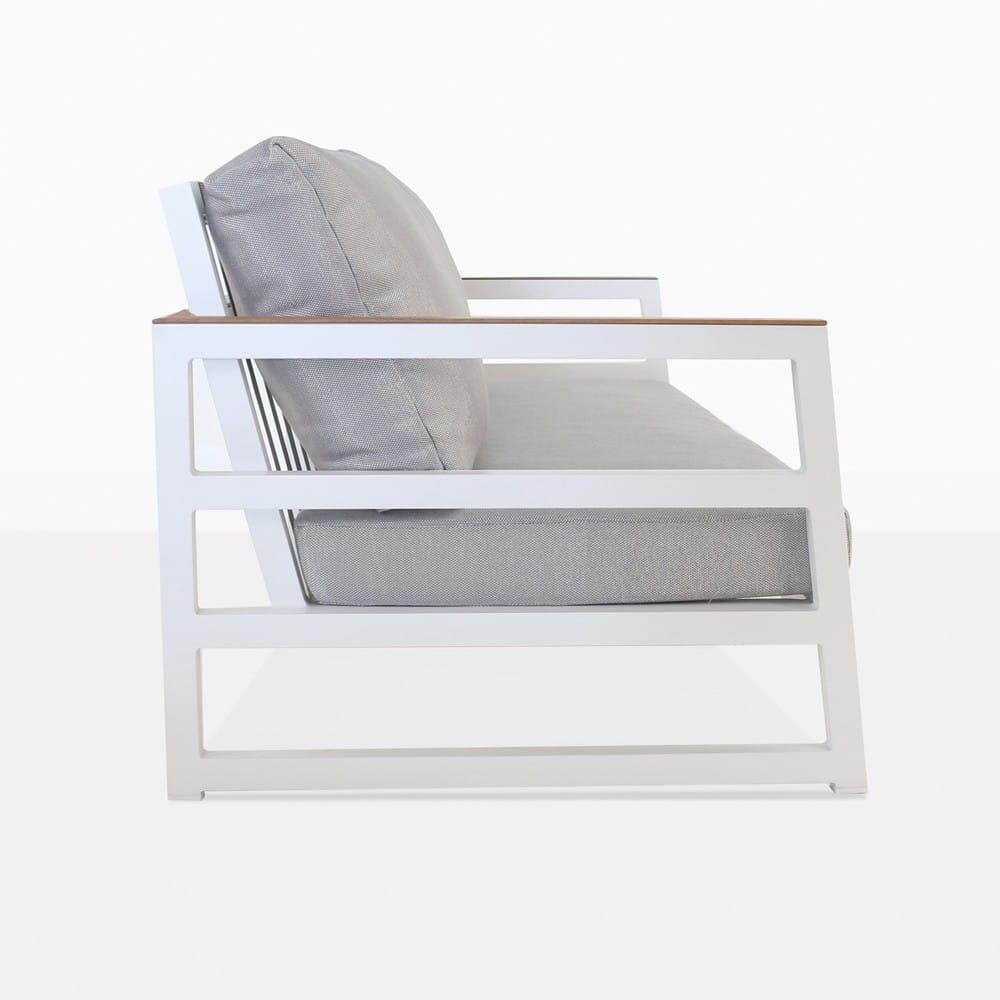 Westside Modern Sofa in White