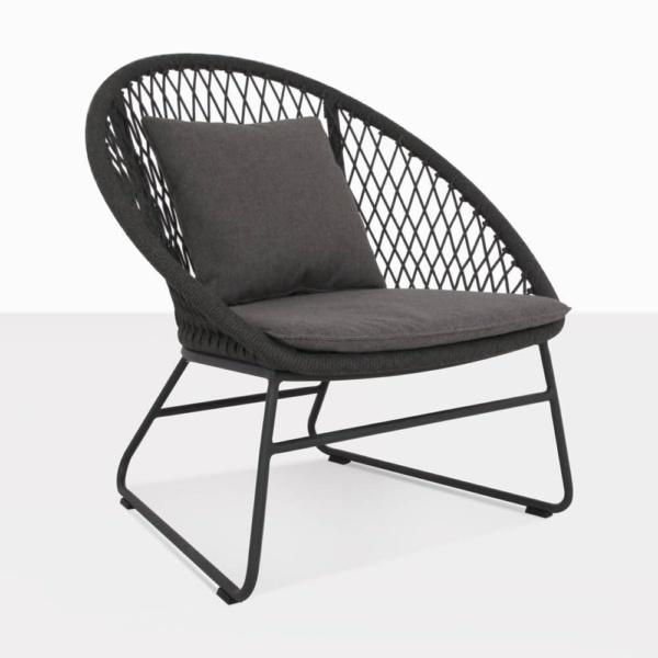 Zaha Cross Weave Rope Relaxing Chair