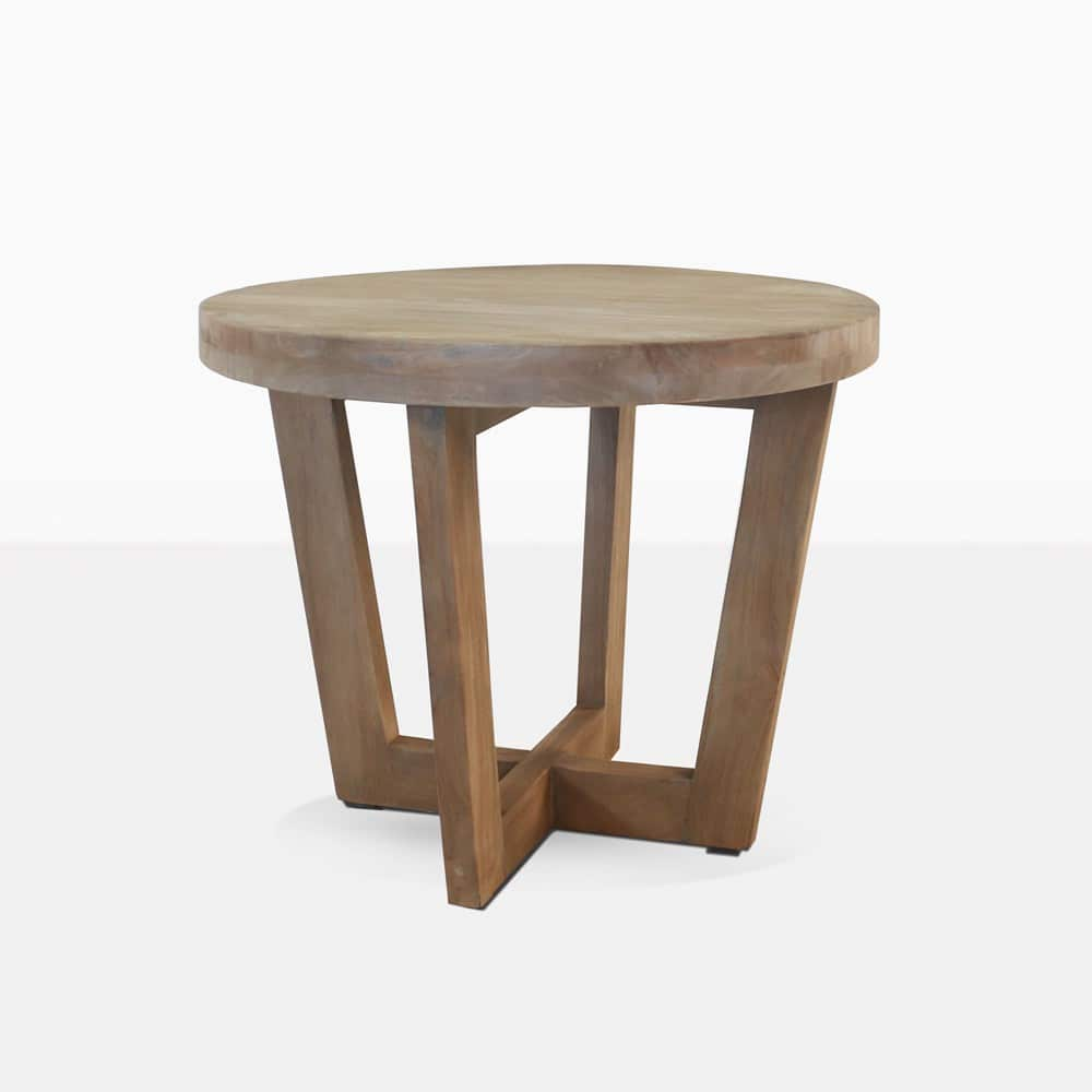 Coco Round Teak Side Table