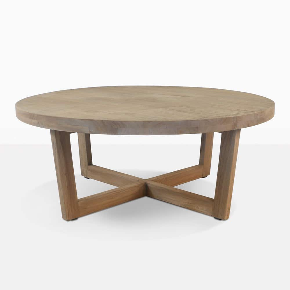 Teak Ottoman Coffee Table: Coco Teak Outdoor Coffee Table