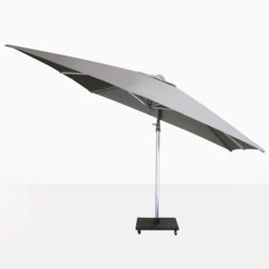 Mauritius Grey Tilting Cantilever Umbrellas