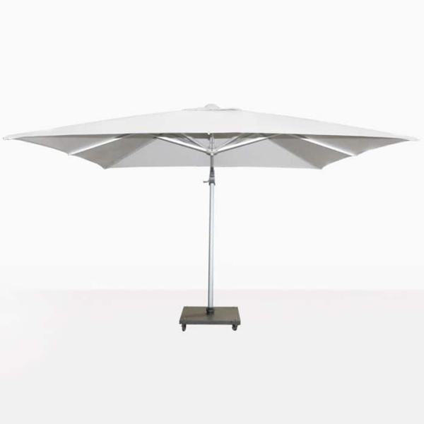 Mauritius White Cantilever Umbrella