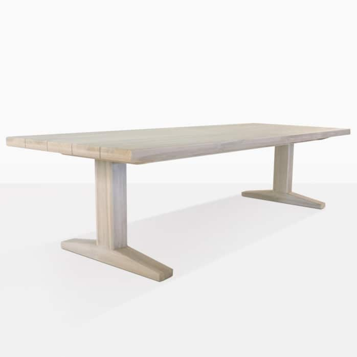 Sherman Teak Large Outdoor Dining Tables | Design Warehouse NZ