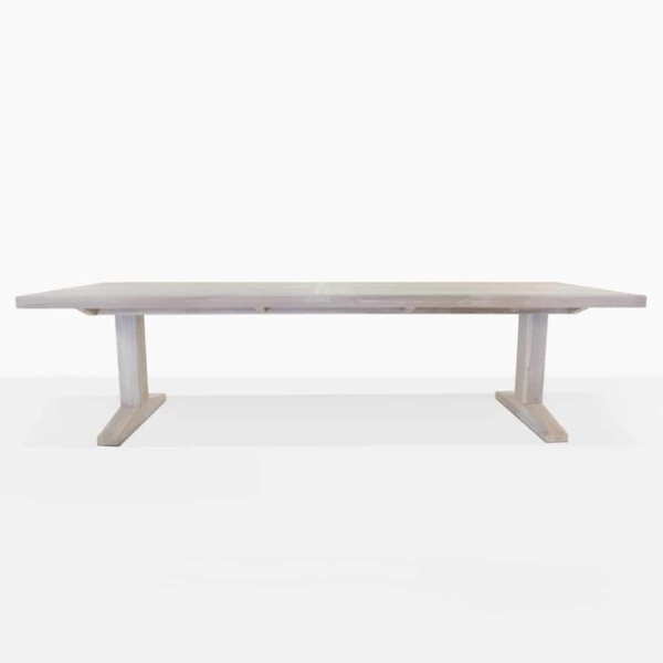 straight view sherman table