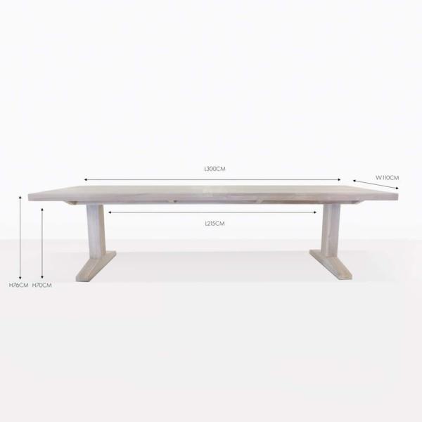 sherman teak dining table