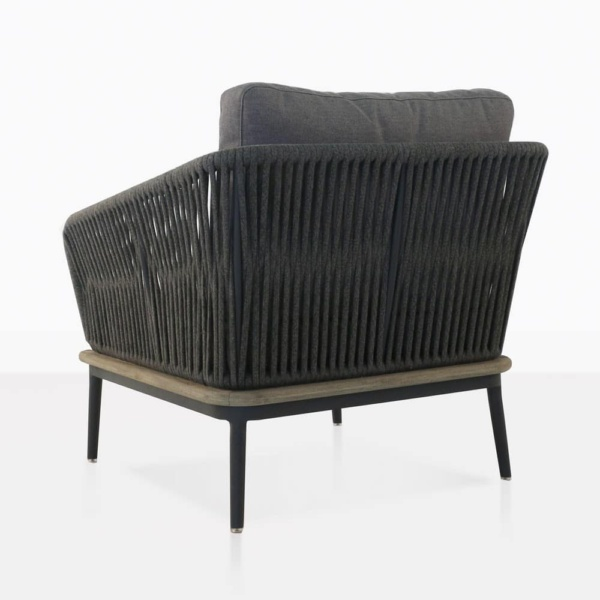 oasis relaxing chair in dark gray