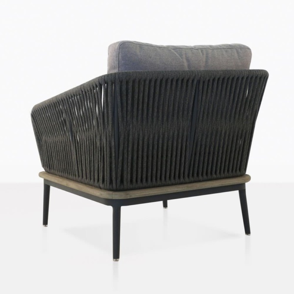 club chair in grey - oasis