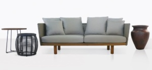 brazil rope and reclaimed teak outdoor collection