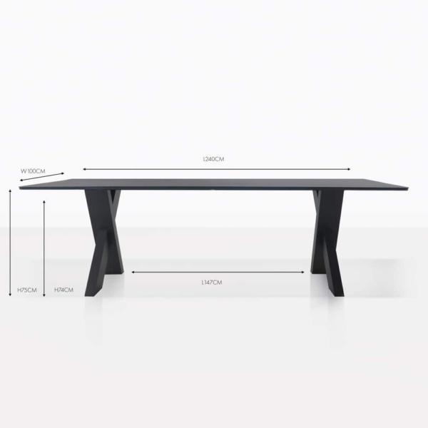 illusion dining table