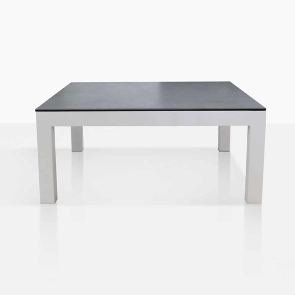 Granada White Square Coffee Table