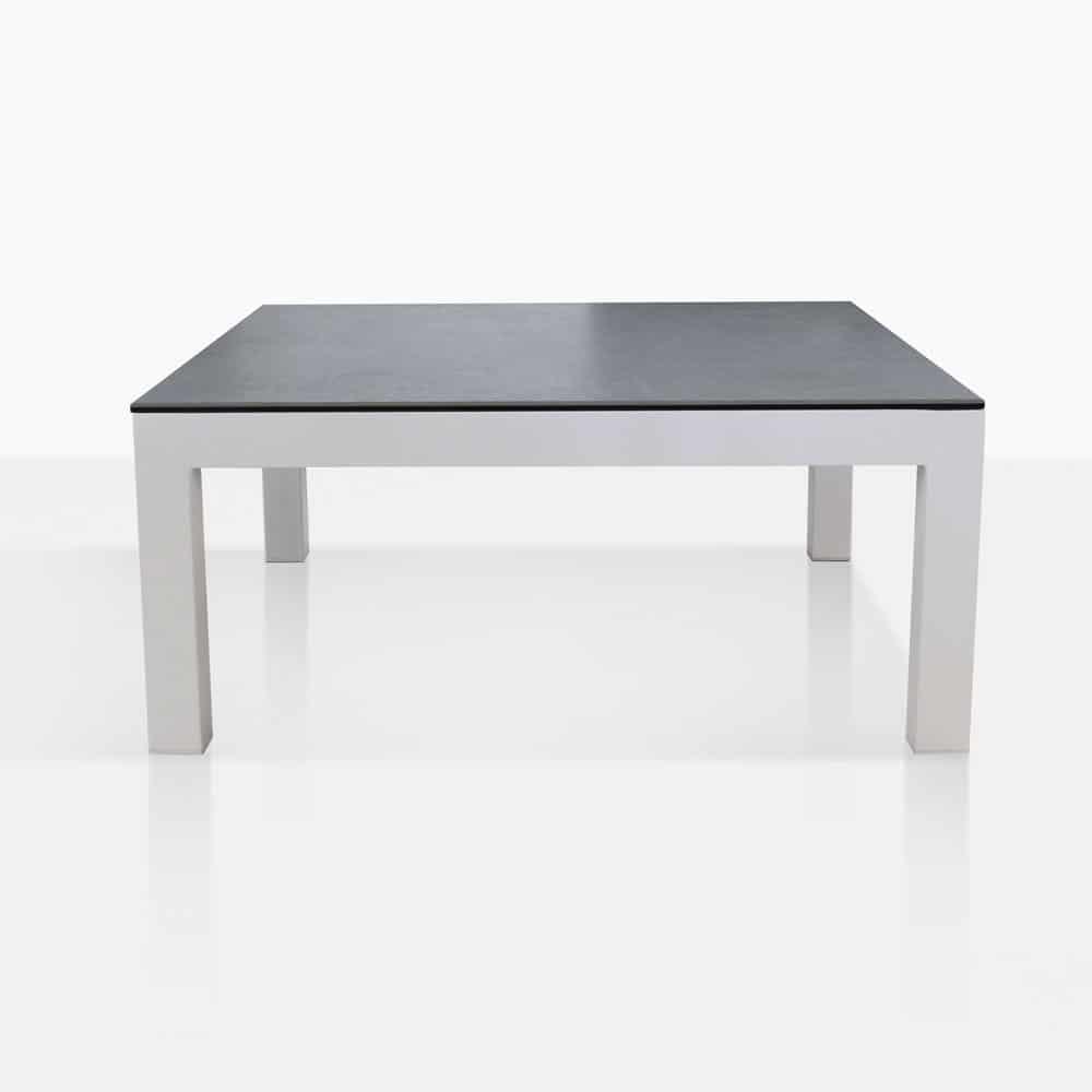 Granada White Square Coffee Table