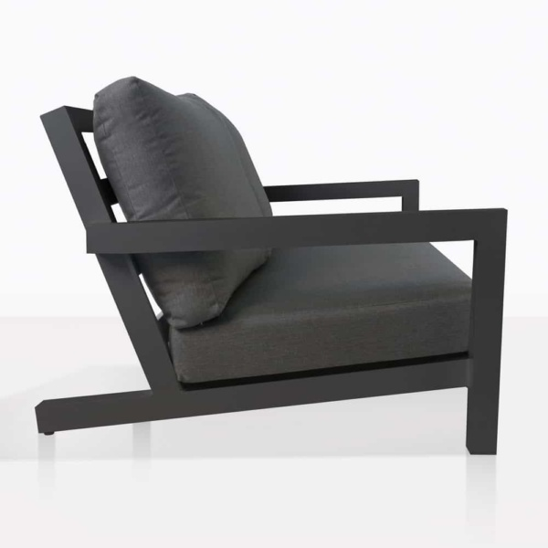 granada aluminium club chair charcoal