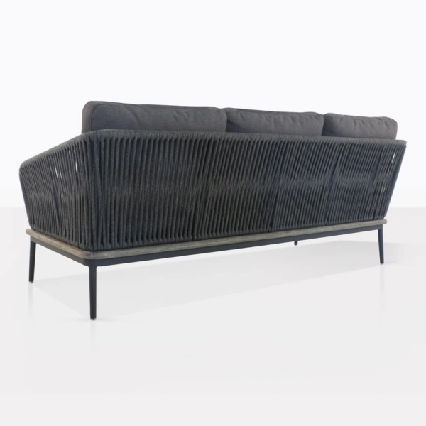 Oasis Sectional Sofa Left Back View