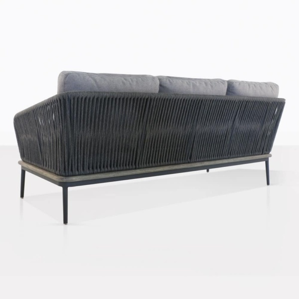 Oasis Sectional Sofa Left Arm Back View