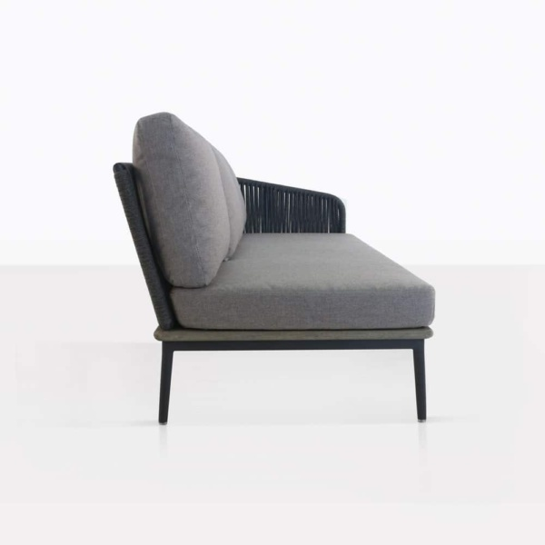 Oasis Left Arm Sectional Sofa Side View