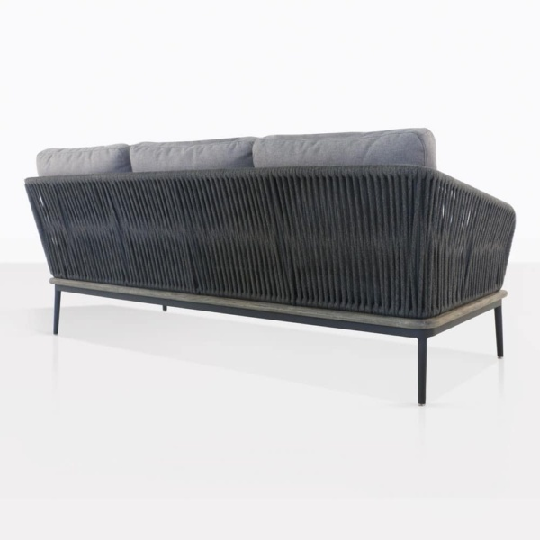 Oasis Rope And Aluminium Sofa Back View