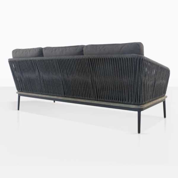 Oasis Sectional Sofa Right Arm Back View