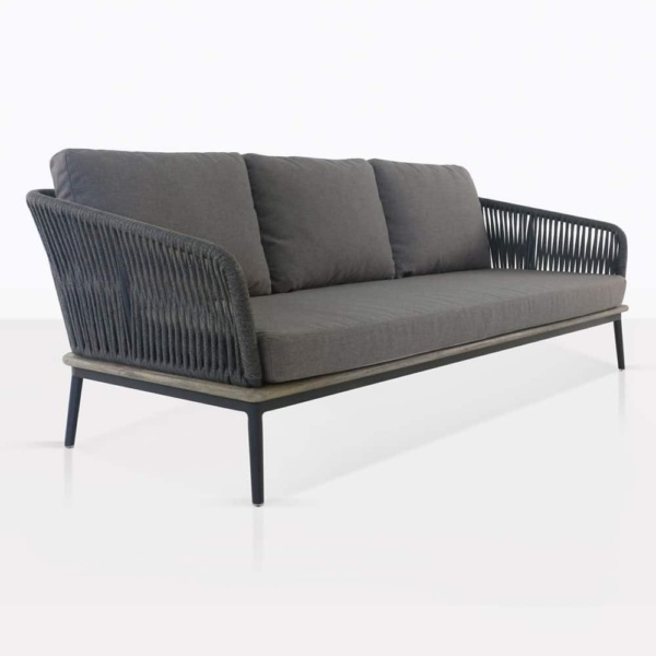 Oasis Rope and Aluminium Outdoor Sofa