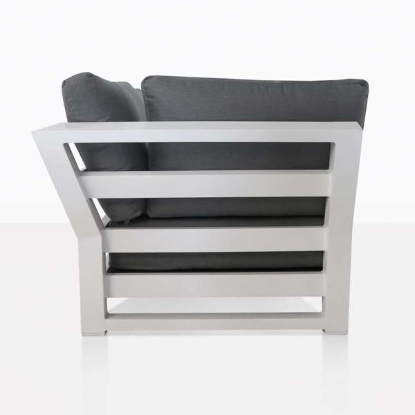 South Bay Aluminium - white sofa side