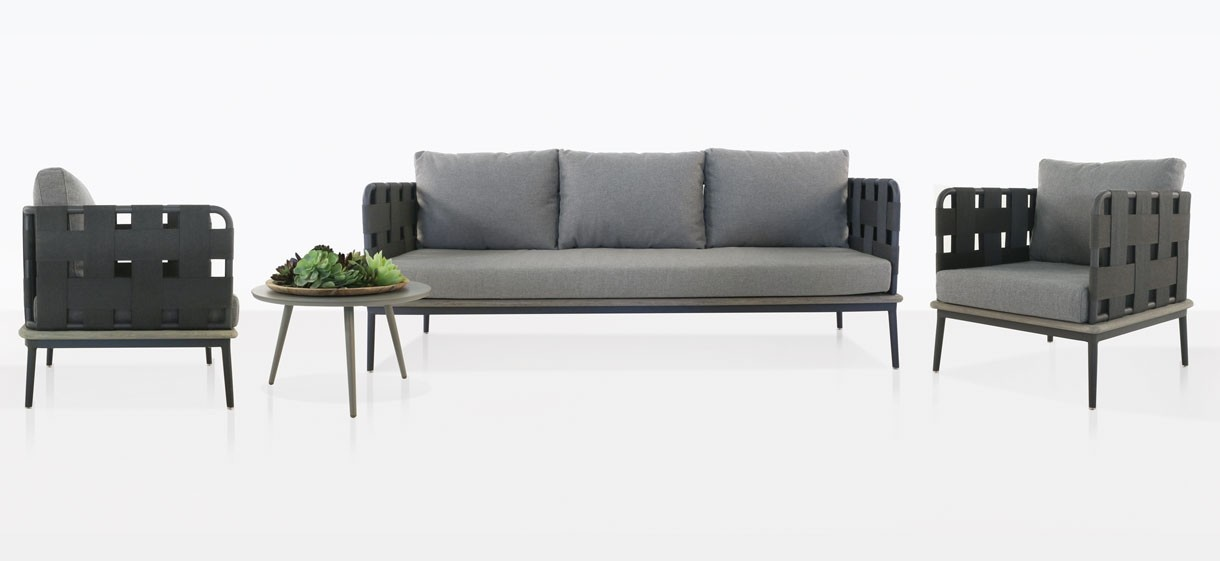Space Outdoor Furniture Collection With Fog Cushions